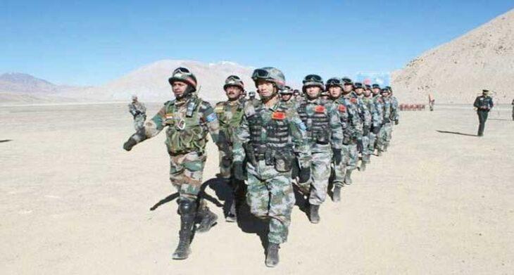 29/30 अगस्त की रात लद्दाख में भारत-चीन के सैनिकों के बीच फिर से झड़प