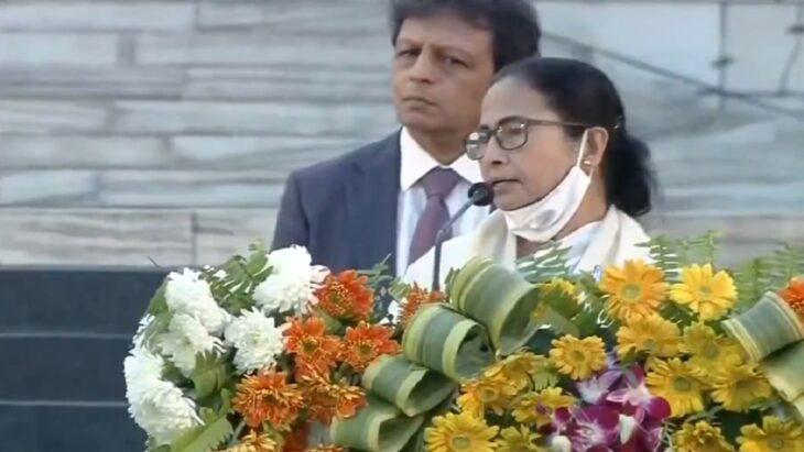 Mamata Banerjee, angry at the slogan of 'Jai Shriram