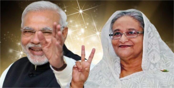 भारत के प्रधानमंत्री नरेंद्र मोदी बांग्लादेश दौरे पर