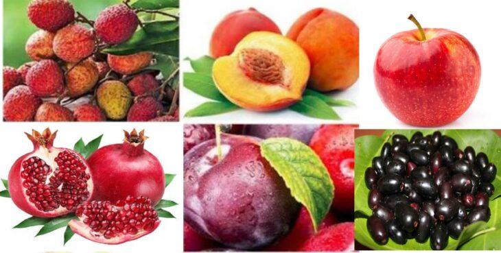 fruit in rainy season
