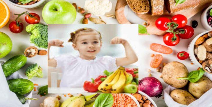 Healthy Foods For Weak Kids