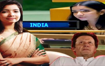 india first secretary sneha dubey reply to pakistan and pak pm imran khan in united nations general assembly