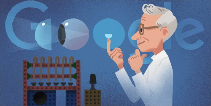 Otto Wichterle:who is otto wichterle google make a doodle